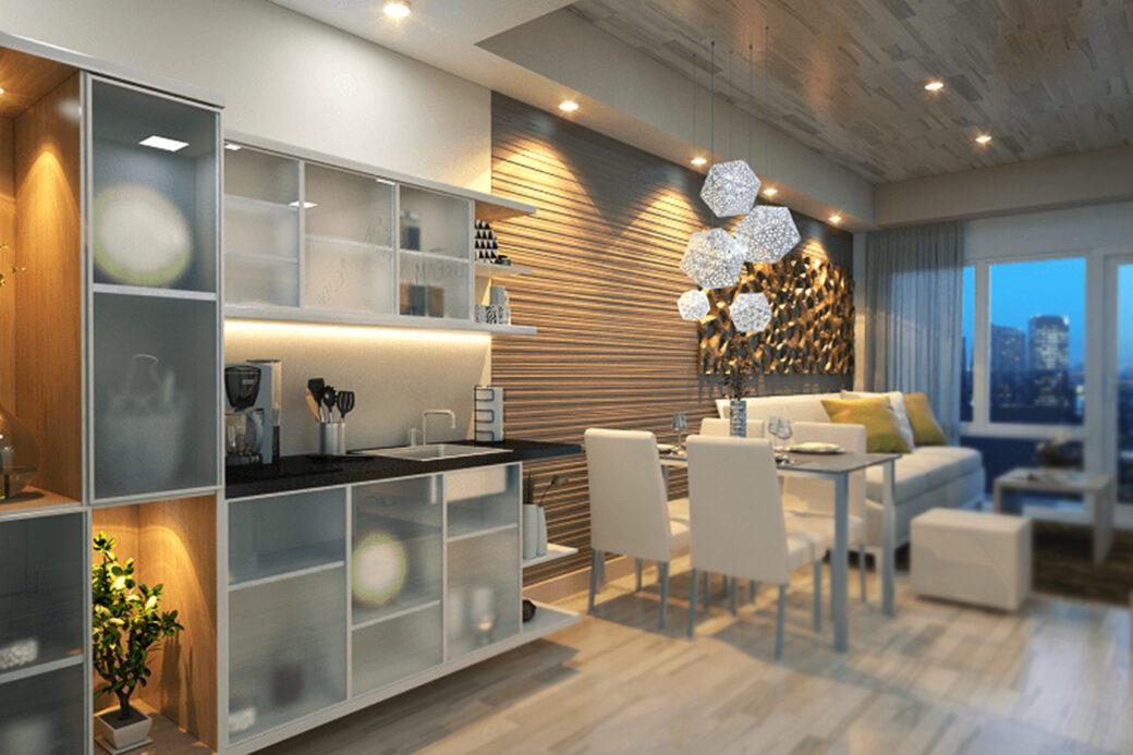 100 West Makati Condo Interior Photos