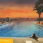 100 West Makati Infinity Pool